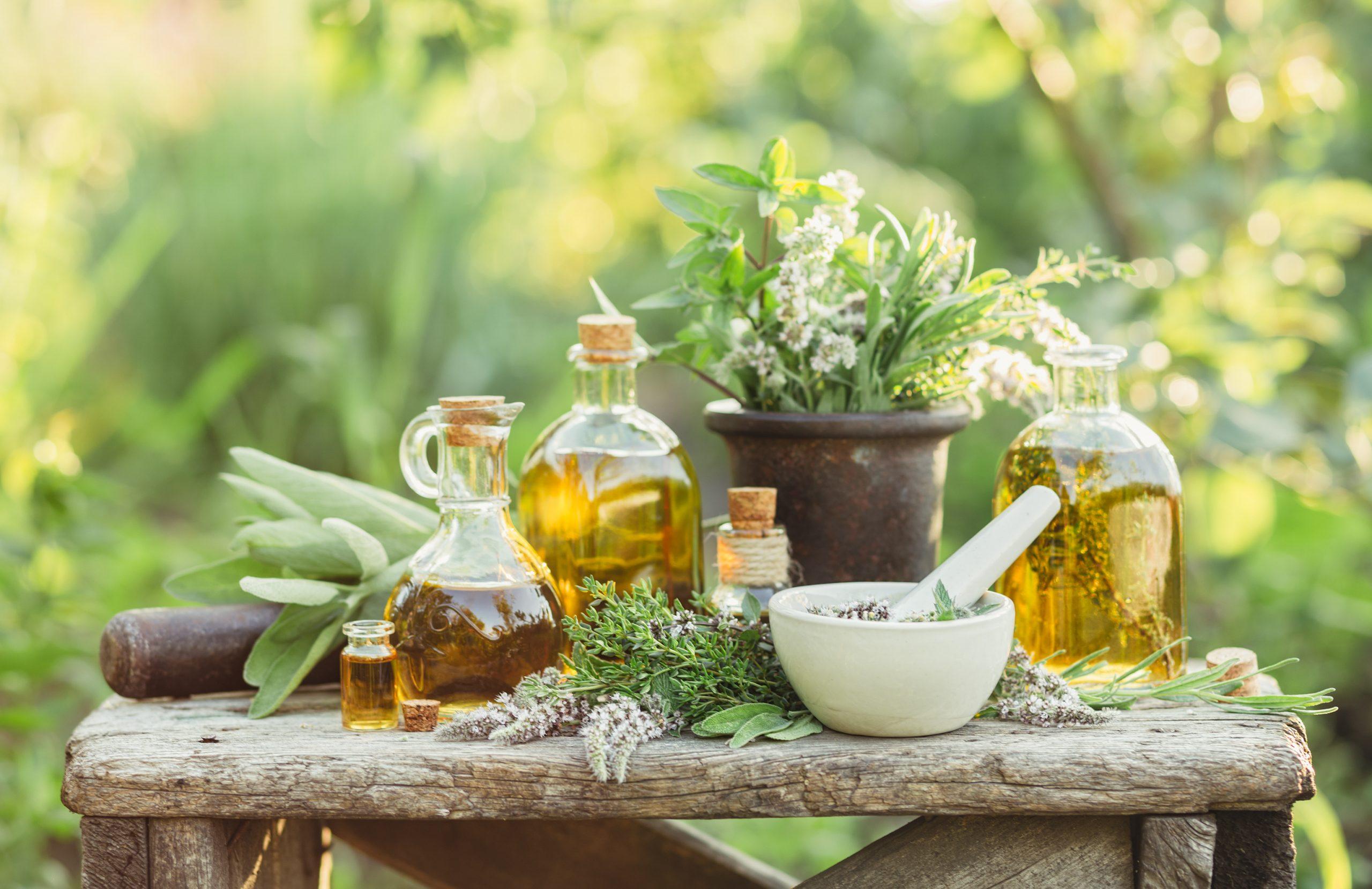 Organic Botanical Oils